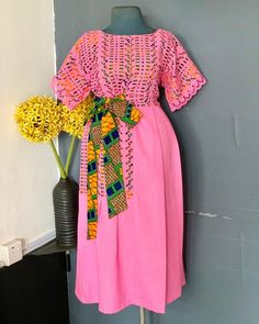 This new piece got us ready for October. African Dresses For Kids, African Maxi Dresses, African Fashion Ankara, Latest African Fashion Dresses, African Print Fashion, Africa Fashion, African Attire, Lace Dresses, Modest Dresses