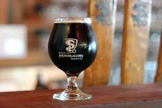 Zealous, from House of Pendragon in Fresno. A delicious, smooth coffee oatmeal stout.