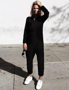 Le parfait look noir et blanc #67 (photo Mija Flatau)