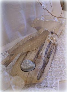 R serv m guirlande xl en bois flott et oiseaux en bois for Guirlande de bois flotte