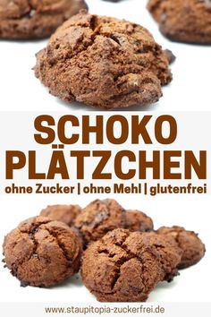 low-carb-schokoladenkekse-ohne-zucker-staupitopia-zuckerfrei/ delivers online tools that help you to stay in control of your personal information and protect your online privacy. Keto Friendly Desserts, Low Carb Desserts, Cookie Desserts, Dessert Recipes, Low Carb Chocolate, Chocolate Cookies, Law Carb, A Food, Food And Drink