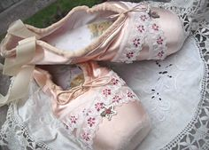 Hey, I found this really awesome Etsy listing at https://www.etsy.com/listing/176031656/altered-ballet-shoes-jeanne-d-arc-style