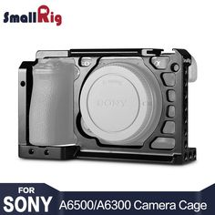 Cheaper US $45.75  SmallRig Dslr Camera Rig Cage for Sony A6500 Aluminum Alloy Cage ( upgrade version ) - 1889  Search here: Tablet PC