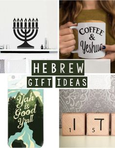 Hebrew Gift Ideas! Lots of great items, all under $30