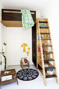 the boo and the boy: Kids loft beds