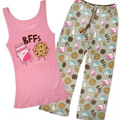 BFFs Pajama Set - Pajamas - Women