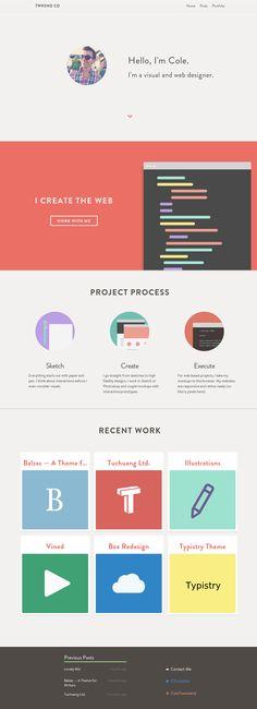 #responsive #webdesign #portfolio