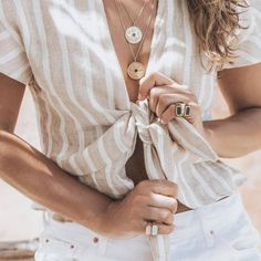 Layering in jewelry – Fashion | Food | Travel