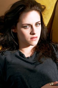 Kristen Stewart. The look in her eyes makes my heart beat uncontrollably