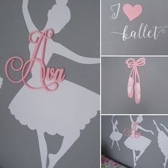 Beautiful design and beautiful details we scattered across this ballet themed bedroom.