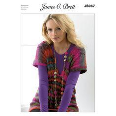 Sweater in James C. Brett Monsoon - JB067