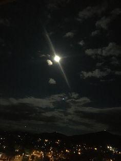 Super moon over Canberra