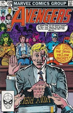 The Avengers #228 - Trial and Error