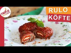 Kırmızıbiberli Kaşarlı Rulo Köfte Tarifi – Nefis Yemek Tarifleri
