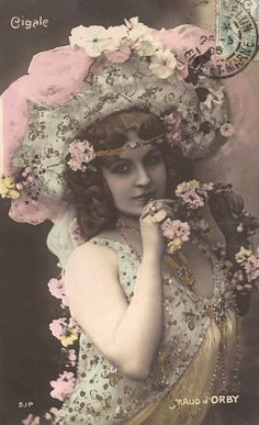 Maud d'Orby Famous Belle Époque Parisian by TheVintageProphecy