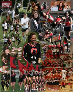 Ali -  Cheerleader, Soccer, Track & Field and Homecoming Court Attendee