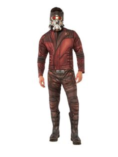 Men's Guardians of the Galaxy Vol. 2 - Star-Lord Deluxe Adult Costume X-Large Size: Xl. Men's Guardians of the Galaxy Vol. 2 - Star-Lord Deluxe Adult Costume X-Large Size: XL Multicolored Great Halloween Costumes, Halloween Men, Trendy Halloween, Super Hero Costumes, Adult Costumes, Men's Costumes, Costume Ideas, Villain Costumes, Cosplay Ideas