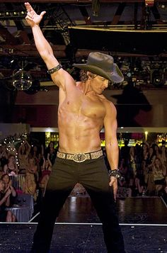 Love this pic of Matthew McConaughey in Magic Mike.