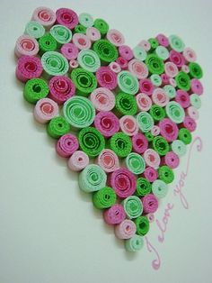 Quilling Lot's of Love..