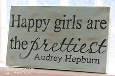 "I've always said "" a smile is the one accessory a girl should never leave the house without ..."" it seems Hepburn said it first and BETTER!"