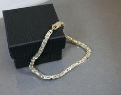 Vintage Armschmuck - Armband 925er Silber Königsarmband elegant SA283 - ein Designerstück von Atelier-Regina bei DaWanda