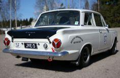 Ford Cortina rally 1964