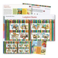 Ladybird Books Presentation Pack at Royal Mail Shop Book Presentation, Ladybird Books, Royal Mail, Book Design, Packing, Stamp, Vintage, Collection, Bag Packaging