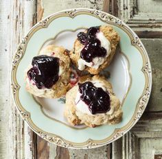 Scones and Jam from Thistle Stop Cafe