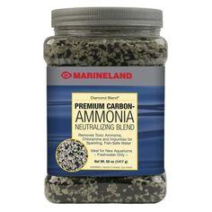 Filter Media Aquarium Carbon Ammonia Neutralizing Crystals Diamond Blend | Marineland
