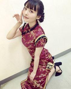 上坂すみれ すみぺ チャイナドレス china dress Stunning Women, Beautiful Asian Women, Asian Style, Chinese Style, Chinese Fashion, Chinese Kimono, Ig Girls, Pretty Asian, Asia Girl