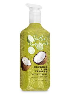 Coconut Lime Verbena Deep Cleansing Hand Soap - Bath And Body Works Perfume Body Spray, Hand Sanitizer Holder, Exfoliating Soap, Candle Labels, Bath And Bodyworks, Dull Skin, Verbena, Deep, Body Works