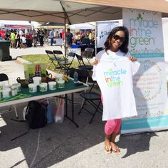 CEO Ify Nwobi at the Taste Of Orlando Festival today! So much fun reaching to hundreds of people who had no idea about Moringa!! For more information feel free to ask us or visit our website at MiracleInTheGreen.com