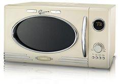 900W Retro Mikrowelle 25 Liter Mikrowellenofen 1000W Grill 12 Programme Melissa 16330089 beige: Amazon.de: Elektro-Großgeräte