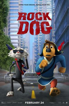 Rock Dog Movie Poster (#15 of 15) - IMP Awards