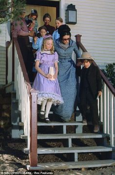 Seventies staple: Alison Arngrim as Nellie Oleson, Scottie MacGregor as Harriet Oleson, Jonathan Gilbert as Willie Oleson in a scene from Little House On The Prairie circa 1974 Laura Ingalls Wilder, Jonathan Gilbert, Ingalls Family, Michael Landon, Old Tv Shows, House Dress, Show Photos, Classic Tv, Period Dramas