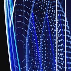 Multi layered #LED #edgelighted #plexiglass. Client: #mevius