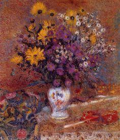 Vase of Flowers  Louis Ritman