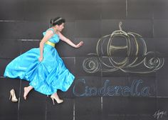 Disney Ladies Chalk Photography by angelelly93 on deviantART
