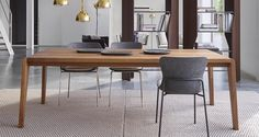 Spirit of Forest Dining Table by Ligne Roset Modern Dining Tables Los Angeles