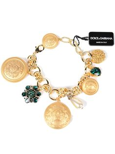 Dolce & Gabbana Dolce & Gabbana Dolce & Gabbana Charm Bracelet