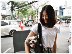 bow #siam #bangkok #bkk #thailand #fashionpic #fashion #snap #picture #タイ #バンコク #ファッション #スナップ #ファッションスナップ #古着 #dog #emotionbkk