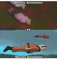Boruto isn't going as fast as naruto that's why