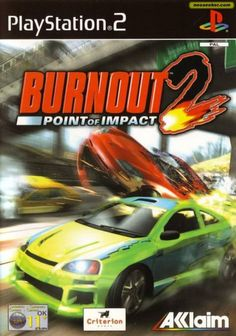 Burnout 2 : Point of Impact sur Gamecube 2012 Games, Original Nintendo, Playstation Games, Xbox, Classic Video Games, Entertainment Video, Video Game Console, Arcade Games, Racing