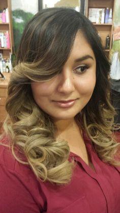 Ombre hair!!