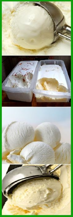 5 Tips to make creamy homemade ice cream, If you like dinos HELLO and give to Like MIREN - Ice cream - Helados Sorbet Ice Cream, Ice Cream Pies, Ice Cream Desserts, Frozen Desserts, Ice Cream Recipes, Sorbets, Gelato, Homemade Ice Cream, Frozen Yogurt