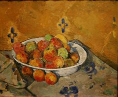 Paul Cezanne - The Plate of Apples - c. 1877