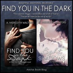 FIND YOU IN THE DARK series by A. Meredith Walters
