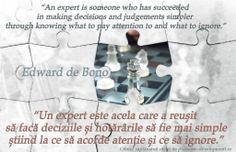 Expertul – Edward de Bono Bruce Lee, Decision Making, Pay Attention, Einstein, How To Make, Making Decisions