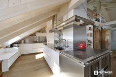 Kitchen Island, Home Appliances, Design, Home Decor, Refractory Brick, Wood Burning Cook Stove, Arredamento, Kitchen Contemporary, Island Kitchen