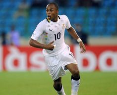 Andre Ayew is a Superstar Midfielder for Ghana's Black Stars and Olympic Marseille who is also the eldest son of the legendary Ghanaian Footballer Abedi Ayew Pele.